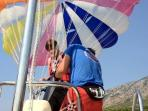 parasailing and many other water sports
