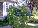 Nichols Guest Rooms Sign