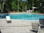 40 x 40 heated in-ground pool - Mineral Spirits 1/2 salt water & 1/2 chlorine