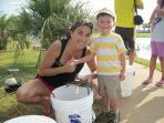 Family crabbing - a favorite activity