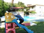 pool and playgound