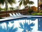Large pool on estate
