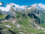 The Grossglockner, Austria's highest alpine road
