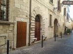 La culla dei Sabini - outside door