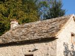Stone roof