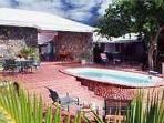 Haiku-St John - Private, peaceful 3 bedroom villa located in Chocolate Hole on 1 acre. Level floor plan.