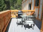 Large balcony, BBQ grill,