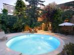 swimming pool -hydromassage