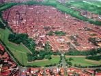 Lucca city center