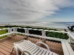 Oceanfront home w/ a private deck, amazing views & private stairs to the beach!