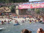 International canoe fiesta - Arriondas