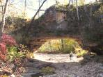 Clifty Creek Natural Bridge