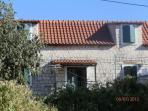 Old stone house in Trogir center