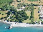 Aerial view of the Hacienda Los Guayacanes