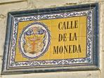 The apartment is located on Calle de la Moneda, in the colonial old city.