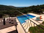 Private sun terrace off the Super King master suite