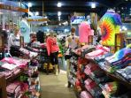 Visit the many gift shops in the area