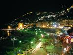 Alanya night coastline. Dance till dawn!
