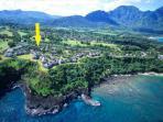 Pali Ke Kua #13 with Garden Views.  Sleeps 6 comfortably!