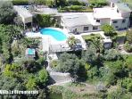 aerial photo of our 3500 sqm property 3 km from Nice City Centre !