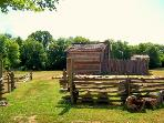 Tour the Historic Fort!  Minutes from the house