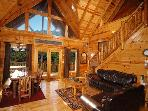 Gatlinburg Cabin with Fireplace