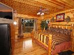 Gatlinburg Cabins with King Suite