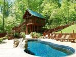Gatlinburg cabin Rentals with pool