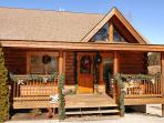 Log Townhome Rental Pigeon Forge, TN 'Almost Bearadise'