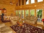 Redneck Ritz, living room