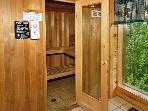 Sauna, Redneck Ritz, Gatlinburg TN