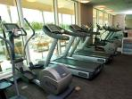 You will find motivation in panoramic views from the stunning Fitness Center