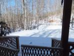 Snow at Pura Vida Cottage