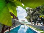 Outdoor common 20m swimming pool
