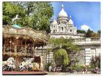 Basilica of the Sacré Cœur is 10 mn by feet