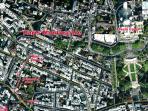 Satellite Map of Montmartre