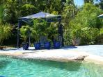 Our tropical swimming pool