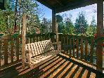 Always Misbehavin' #1412- Porch Swing on the Deck