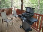 Hidden Romance #1404- Outside Deck & Gas Grill