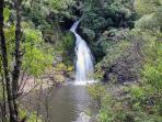 Waterfall near Waitakere Dam