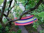 Hammock in the garden for ultimate relaxation
