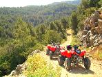 guided quad bike and buggy tours.