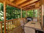 Pine Cove Hideaway #1816- Outside Deck & Gas Grill