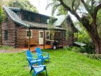 Unique, Charming Log House on Maui!
