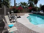 Plenty of room by the pool
