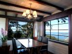 Enjoy panoramic views cooking and dinning