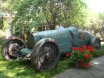 Bugatti bronze in REAL SIZE from Monaco to admire