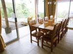 Dining table for 10 persons