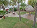 Side Yard Tropical Paradise W/ 2 Palapas