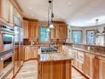 Hickory & Stone Lodge Kitchen Breckenridge Lodging